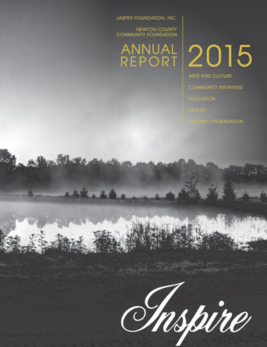 Jasper Foundation 2015 Annual Report