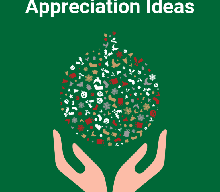 Showing appreciation to your volunteers this holiday season